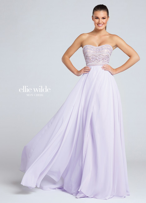 EW117017 (lilac) Prom                                             dress by Ellie Wilde