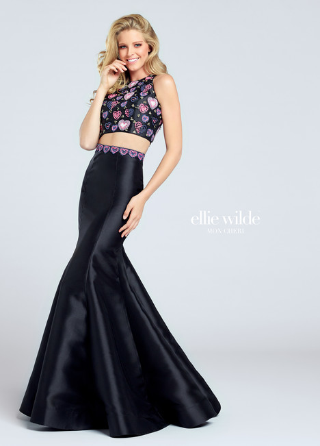 EW117026 (black) Prom                                             dress by Ellie Wilde