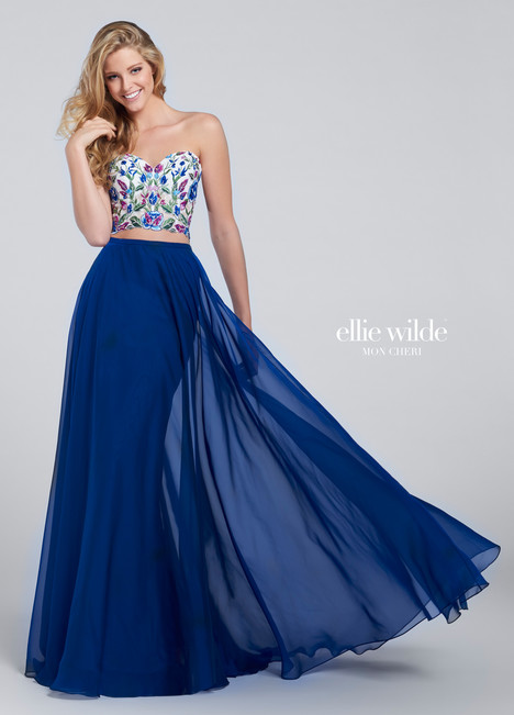 EW117031 (royal blue) Prom                                             dress by Ellie Wilde