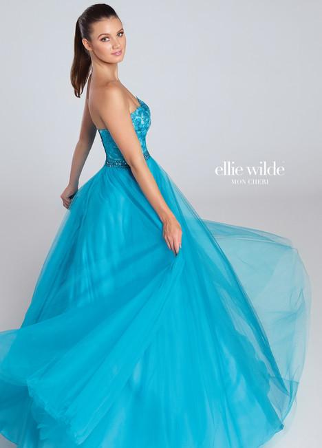 EW117058 (teal) Prom                                             dress by Ellie Wilde