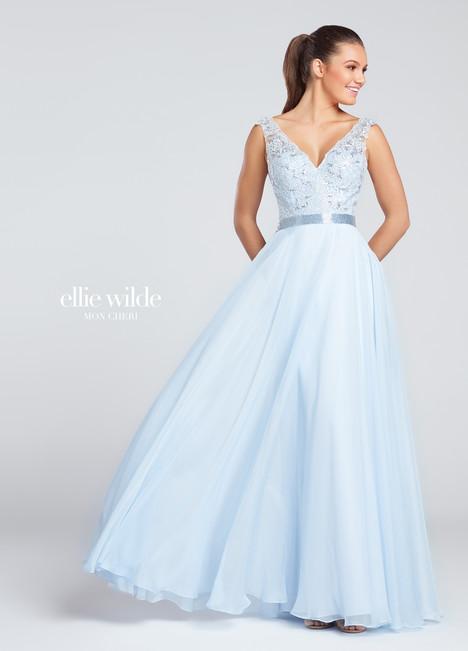 EW117074 (ice blue) Prom                                             dress by Ellie Wilde
