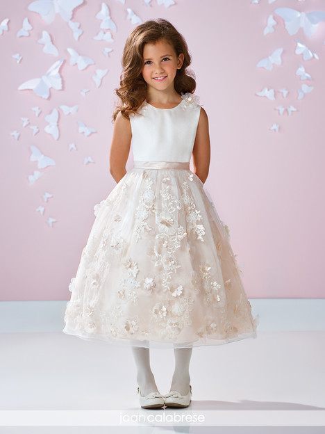 117332 (ivory) Flower Girl                                      dress by Joan Calabrese
