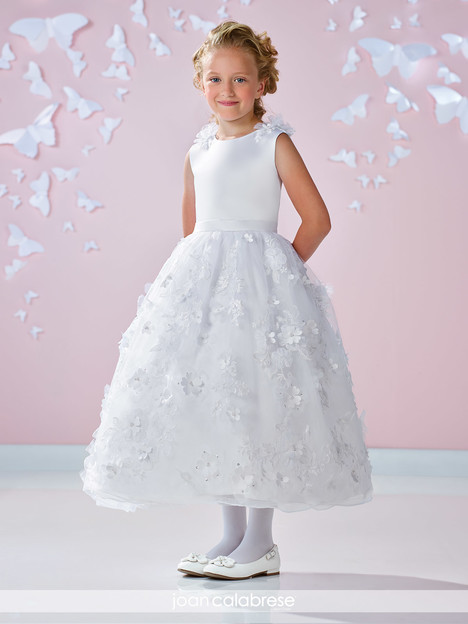 117332 (white) Flower Girl                                      dress by Joan Calabrese