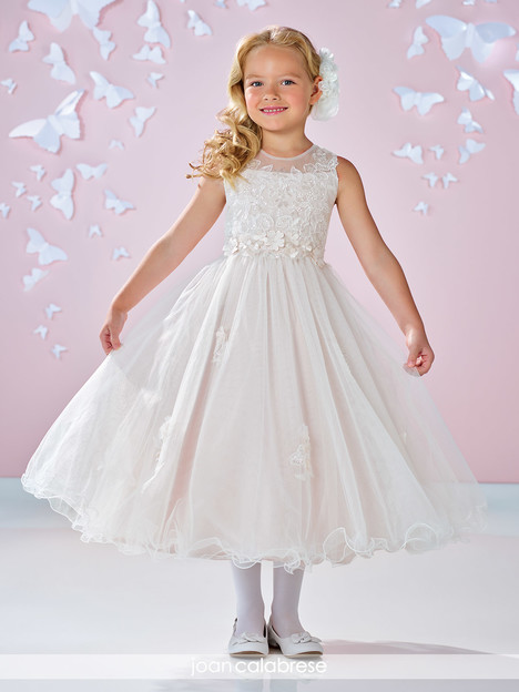 117333 (ivory) Flower Girl                                      dress by Joan Calabrese