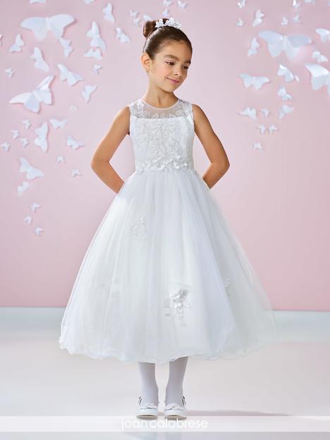 117333 (white) Flower Girl                                      dress by Joan Calabrese