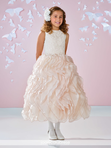 117335 (ivory) Flower Girl                                      dress by Joan Calabrese
