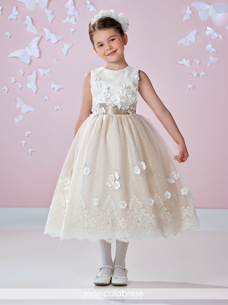 117336 (ivory) Flower Girl                                      dress by Joan Calabrese