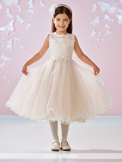 117346 (ivory) Flower Girl                                      dress by Joan Calabrese
