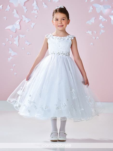 117362 (white) Flower Girl                                      dress by Joan Calabrese