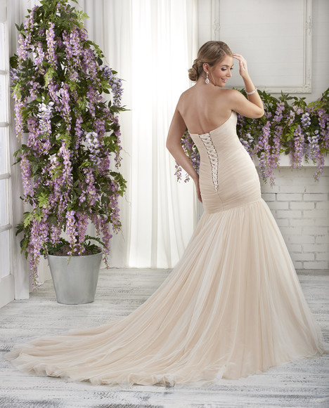 BB606 (back) Wedding                                          dress by Bonny Bridal