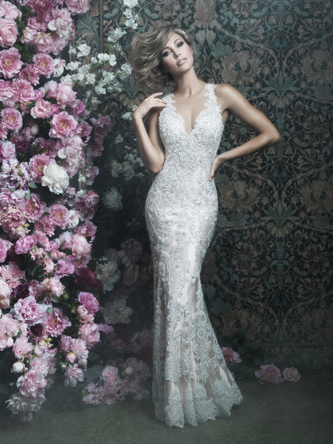 C401F Wedding                                          dress by Allure Bridals : Allure Couture