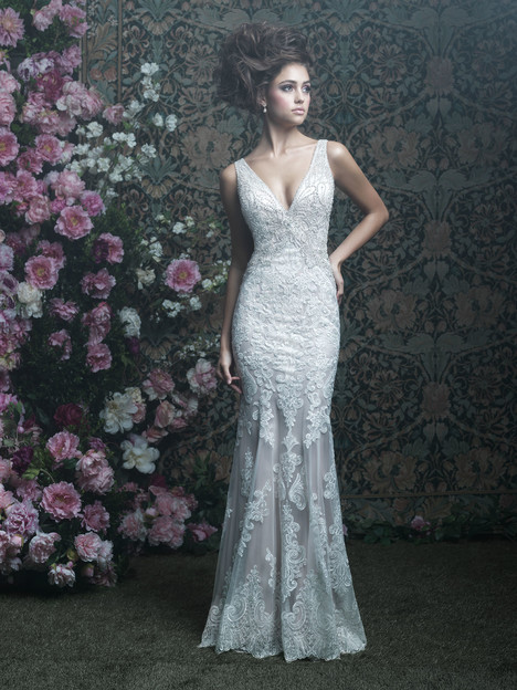 C408 Wedding                                          dress by Allure Couture