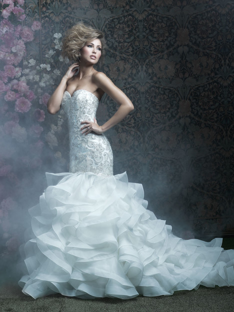 C410 Wedding                                          dress by Allure Bridals : Allure Couture