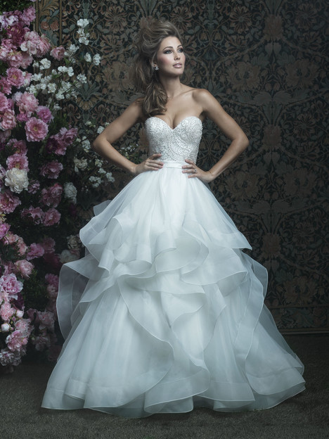 C417 Wedding                                          dress by Allure Bridals : Allure Couture