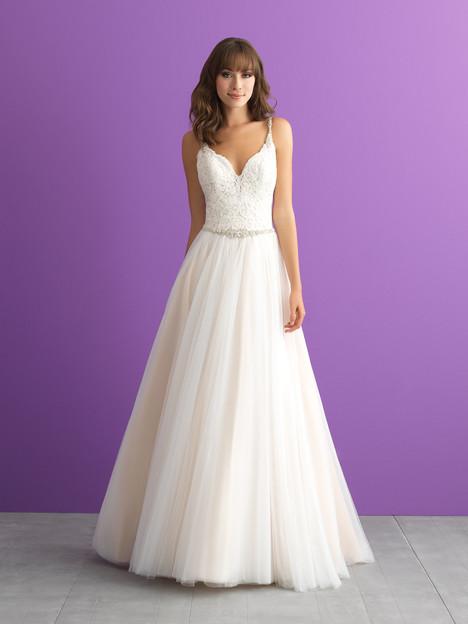 3004 Wedding                                          dress by Allure Bridals : Allure Romance