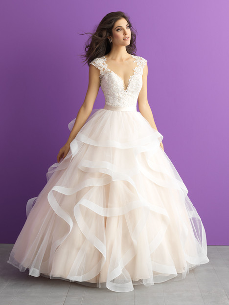 3017 gown from the 2017 Allure Romance collection, as seen on dressfinder.ca