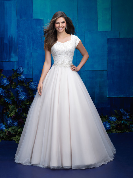 M572 Wedding                                          dress by Allure Bridals: Allure Modest