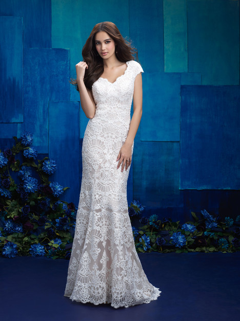 M573 Wedding                                          dress by Allure Bridals: Allure Modest