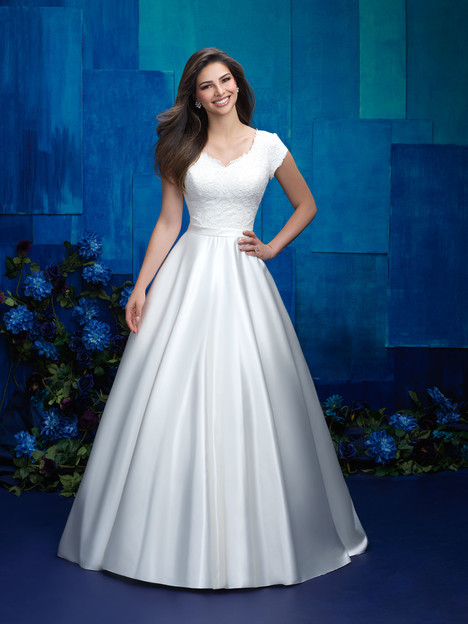 M575 Wedding                                          dress by Allure Bridals: Allure Modest