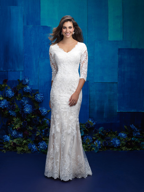 M576 Wedding                                          dress by Allure Bridals: Allure Modest