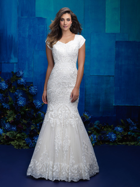 M577 Wedding                                          dress by Allure Bridals: Allure Modest