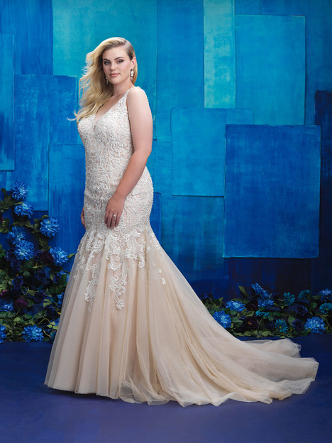 W390 Wedding                                          dress by Allure Bridals : Allure Women