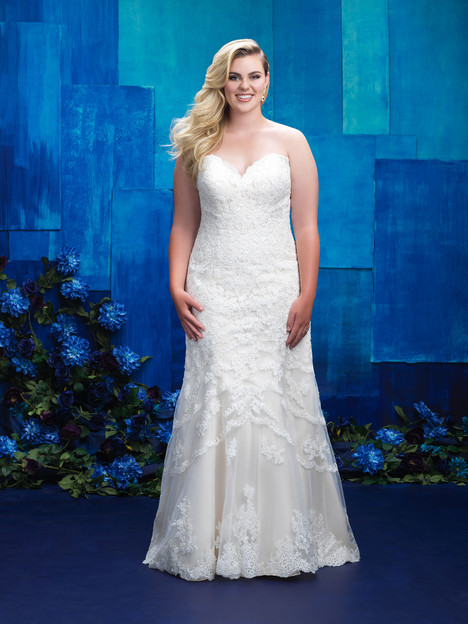 W391 Wedding                                          dress by Allure Women