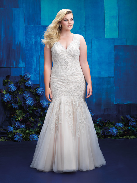 W392 Wedding                                          dress by Allure Women