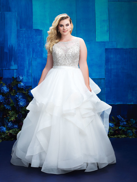 W393 Wedding                                          dress by Allure Women