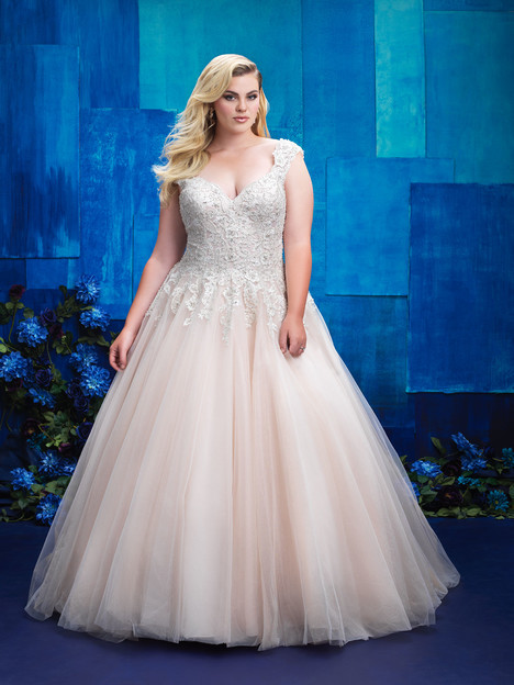 W394 Wedding                                          dress by Allure Women