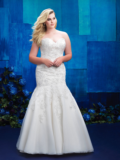 W395 Wedding                                          dress by Allure Women