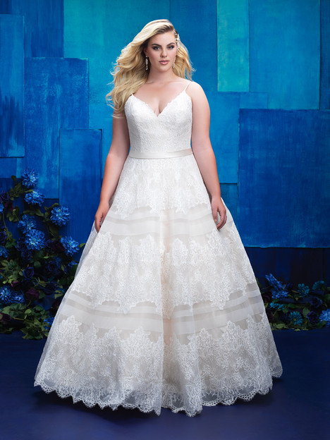 W397 Wedding                                          dress by Allure Women