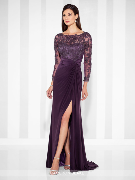117613 (2) (eggplant) Mother of the Bride                              dress by Cameron Blake