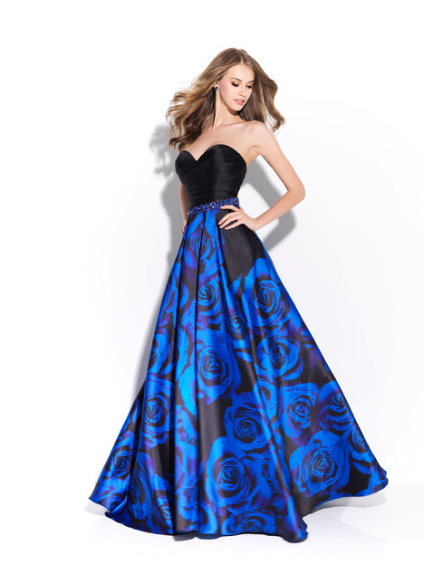 17-203 (blue) Prom                                             dress by Madison James: Special Occasion