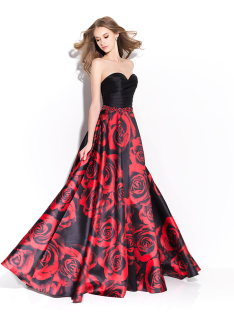 17-203 (red) Prom                                             dress by Madison James: Special Occasion