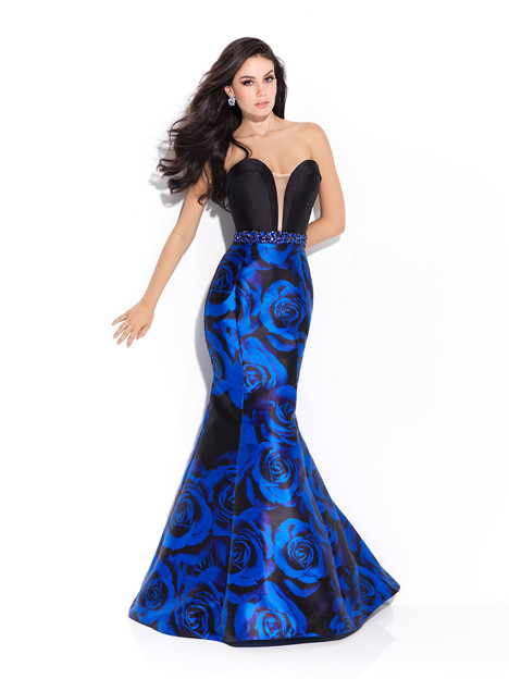 17-204 (blue) Prom                                             dress by Madison James: Special Occasion