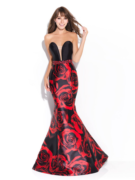 17-204 (red) Prom                                             dress by Madison James: Special Occasion