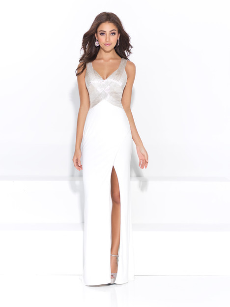 17-205 (white) Prom                                             dress by Madison James: Special Occasion