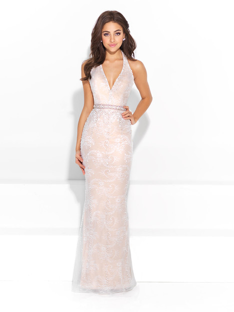 17-208 (ivory & nude) Prom                                             dress by Madison James: Special Occasion