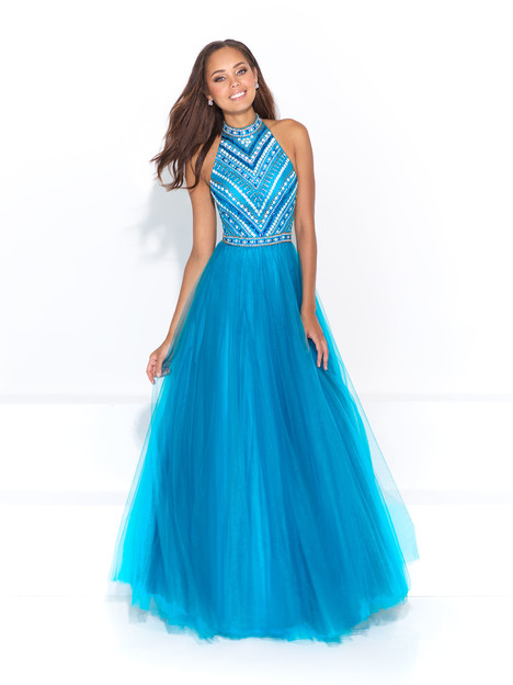 17-209 (turquoise) Prom                                             dress by Madison James: Special Occasion