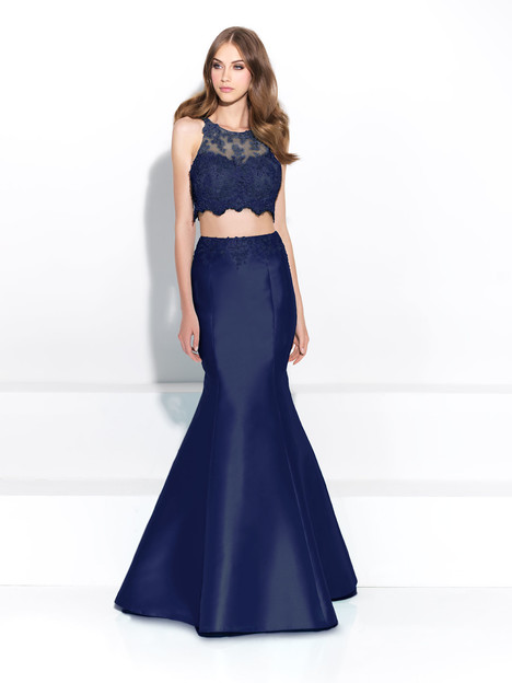 17-212 (navy) Prom                                             dress by Madison James: Special Occasion