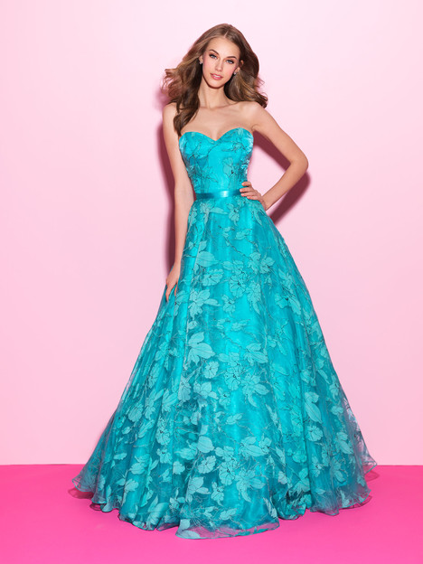 17-214 (turquoise) Prom                                             dress by Madison James : Prom