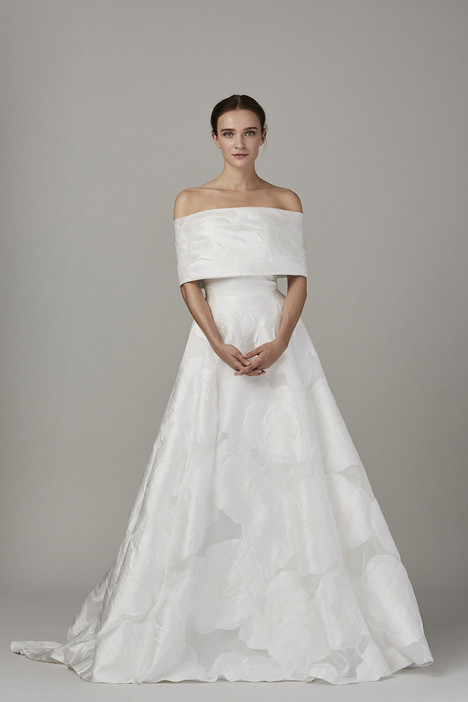 The Cape Wedding                                          dress by Lela Rose