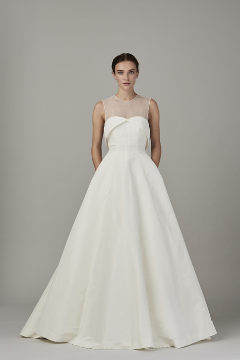 The South Sea Wedding                                          dress by Lela Rose