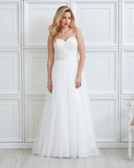 7051 Wedding                                          dress by Romantic Bridals
