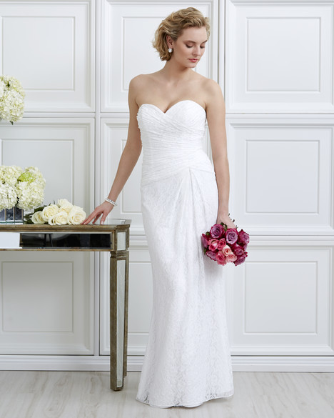7055 Wedding                                          dress by Romantic Bridals