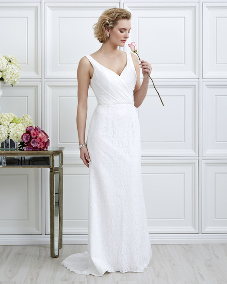 7056 Wedding                                          dress by Romantic Bridals