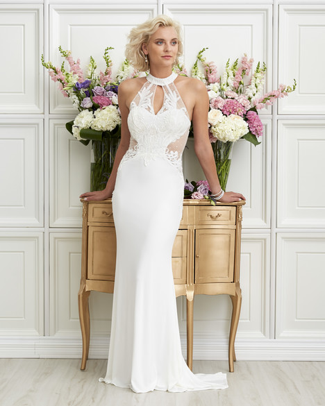 7253 Wedding                                          dress by Romantic Bridals