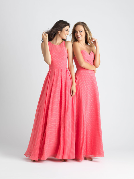 1540 (left) + 1542 (right) Bridesmaids                                      dress by Allure Bridesmaids