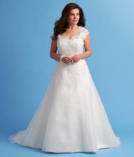 6629W Wedding                                          dress by Romantic Bridals: Curvy Bride